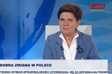 Beata Szydło sugeruje, że Donald Tusk nie ma co liczyć na poparcie rządu w sprawie przedłużenia kadencji w Brukseli