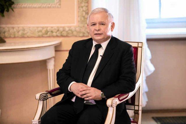 Jarosław Kaczyński w wywiadzie pokazuje,że pohukiwania europejskich polityków nie robią na nim wrażenia.