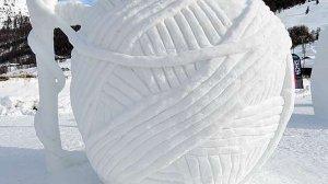 Rzeźby z lodu i śniegu