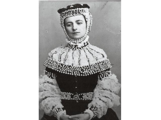 """Modrzejewska w sztuce """"Barbara Radziwiłłówna"""" (1865)"""