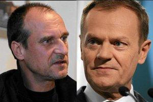 Paweł Kukiz i Donald Tusk
