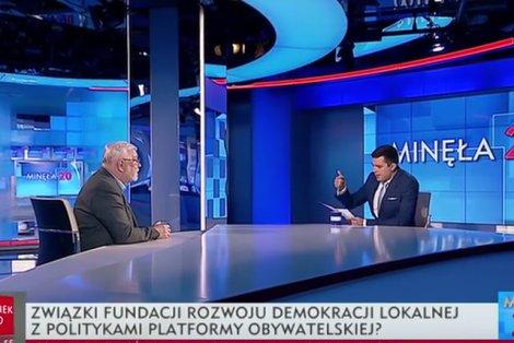 Kłótnia w TVP. Rachoń rozwścieczył Stępnia insynuacjami o jego kontaktach z polityką.
