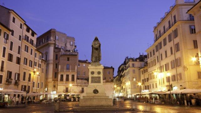 Pomnik Giordano Bruno na [url=http://shutr.bz/1aJnJY2]Campo dei Fiori[/url]