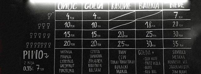 Talica za barem w Kisielicach