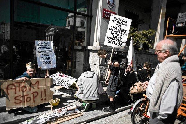 Protesty były bez sensu. I tak organizacyjnie nie jesteśmy w stanie podołać  budowie elektrowni jądrowej