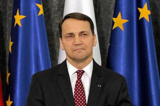 Marszałek Sejmu Radosław Sikorski.