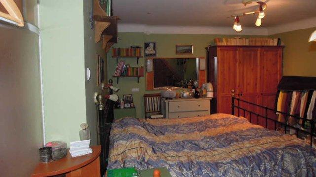 Sypialnia przed stylizacją