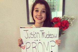 Czy premier Kanady przyjdzie na studniówkę 17-letniej Kashlee?