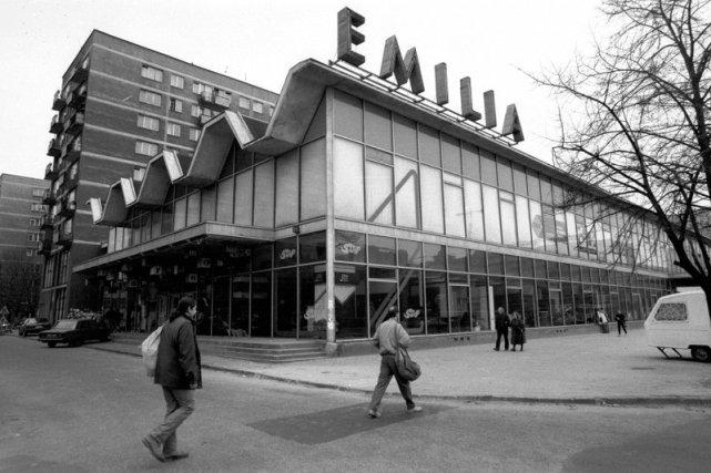 Sklep Meblowy Emilia - 1992 rok.
