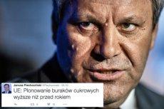 Janusz Piechociński czasem zdaje się mieć większą wiedzę niż serwery Głównego Urzędu Statystycznego.