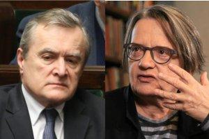 Agnieszka Holland nie widzi możliwości współpracy z Piotrem Glińskim,  ministrem kultury i dziedzictwa narodowego.