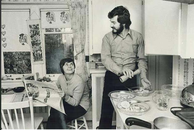 Warren Farrell z żoną.