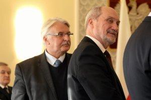 Witold Waszczykowski i Antoni Macierewicz spotkali się w Edynburgu z brytyjskimi politykami, ale też z Polonią.
