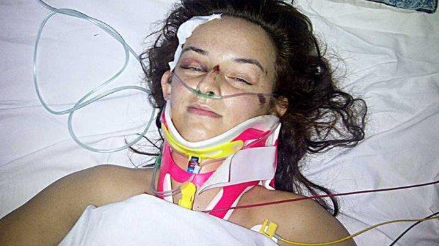Beata Jałocha po wypadku
