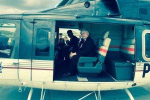 Jarosław Kaczyński wpłaci równowartość kosztów przelotu na konto  fundacji pomocy żonom i dzieciom poległym policjantów.