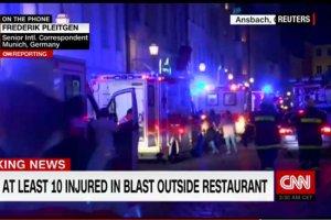 W Niemczech doszło do kolejnego zamachu. W mieście Ansbach w Bawarii wysadził się 27-letni Syryjczyk.