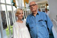 Andrzej Łapicki z żoną Kamilą Łapicką