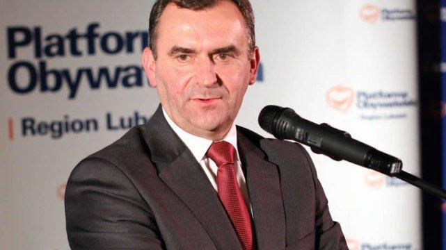Włodzimierz Karpiński, minister skarbu