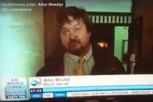 """TVN24 zaliczyło wpadkę, a prawica pisze o """"wielkiej manipulacji"""". Dziennikarz pomylił aktora z Arturem Wosztylem"""
