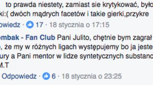 Choć Michał Tombak to medycyna alternatywna, jednak inna liga...