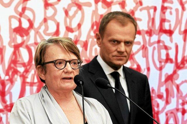 Agnieszka Holland i dziesiątki innych twórców apelują do rządu o miliard euro pomocy dla Ukrainy.