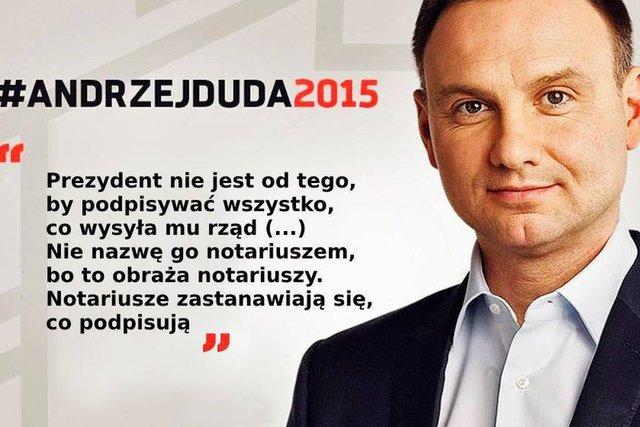 Prezydent Andrzej Duda jeszcze kilka miesięcy temu ostro mówił o głowie państwa, która podpisuje wszystko, co chce rząd