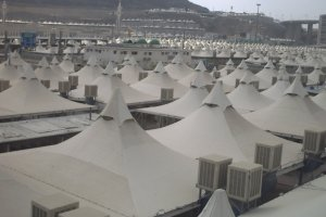 Arabia Saudyjska nie przyjęła żadnego uchodźcy. W miasteczku namiotowym w mieści Mina może zmieścić trzy miliony ludzi