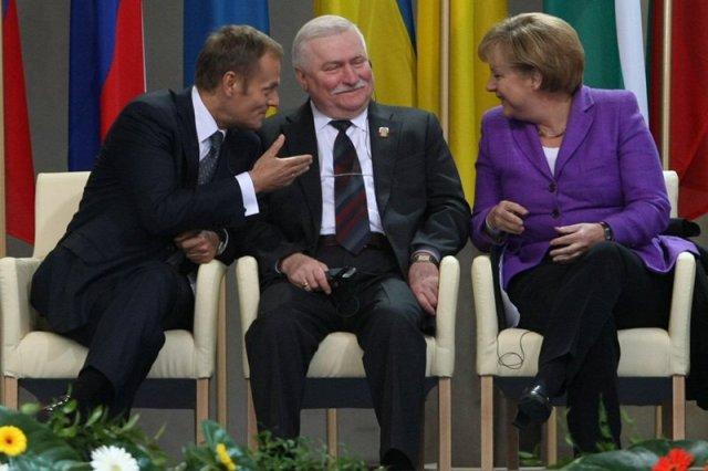 Lech Wałęsa uważa, że musimy stworzyć z Polski i Niemiec jedno państwo.