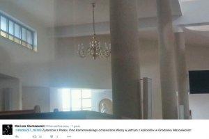 Żyrandole z Pałacu Prezydenckiego wiszą teraz w kościele