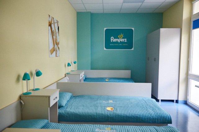 Pokój dla Mam w otwockim szpitalu.