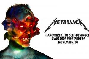 Metallica w listopadzie wyda nowąpłytę.