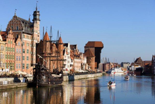 Żuraw to znak rozpoznawczy Gdańska.