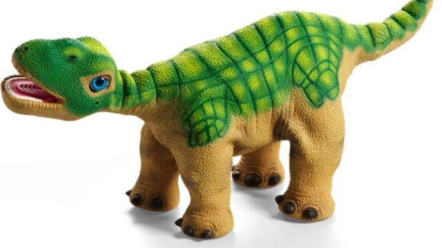 Pleo rb robot dinozaur, który rozwija się jak każda żywa istota i tak jak ona posiada zmysły