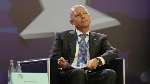 Andrzej Klesyk na Forum w Krynicy