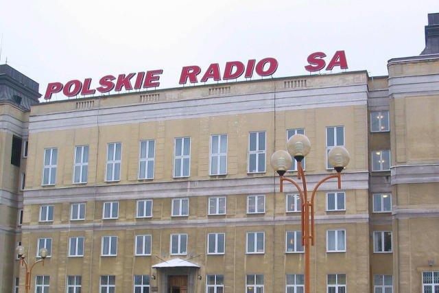 Budynek Polskiego Radia w Warszawie.