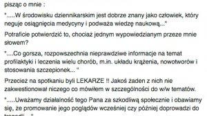 Jerzy Zięba odpowiada na zarzuty dziennikarzy.