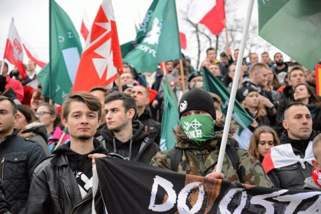 Na Marszu Niepodległości najmłodsze pokolenie Polaków jest najmocniej reprezentowane.