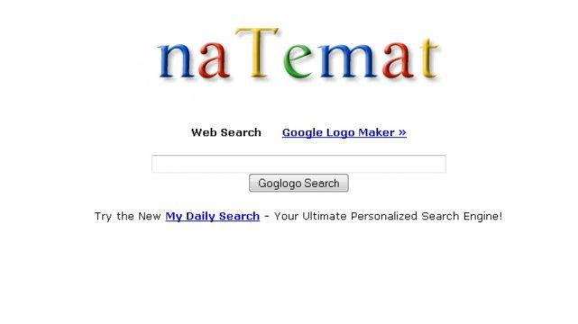 Goglogo umożliwa spersonalizowanie loga Google.