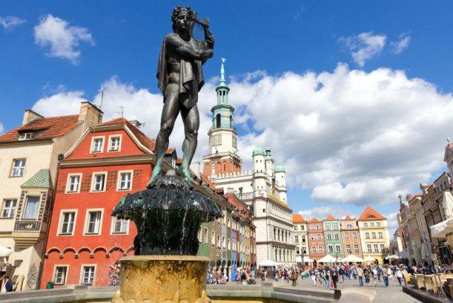 Poznań to jedno z najbardziej kolorowych miast w Polsce.
