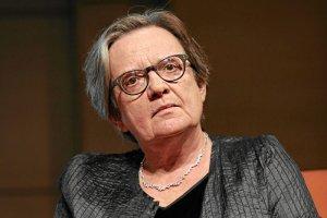 """Agnieszka Holland w """"Tomasz Lis na żywo"""" oceniała 25 lat polskiej wolności."""