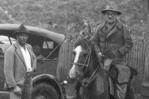 Polscy koloniści w Cruz Machado w stanie Parana w Brazylii, 1934.