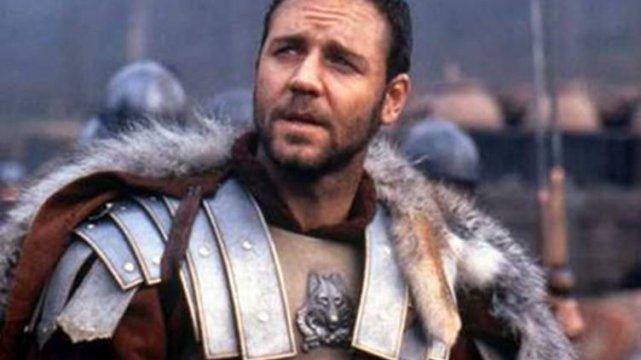 Russell Crowe nie został Aragornem, ale powalczył jako gladiator