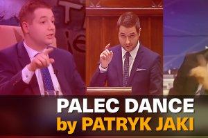 """""""Palec dance by Patryk Jaki"""". Wiceminister Sprawiedliwości jakiego nie znacie - w rytmie disco."""