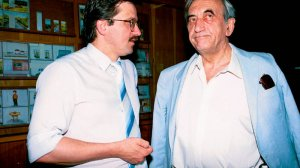 Tadeusz Mazowiecki i Bronisław Komorowski podczas Rady Krajowej Unii Wolności