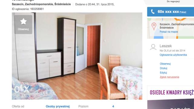 Ceny mieszkań w Szczecinie są niższe nawet o połowę, niż w Warszawie.
