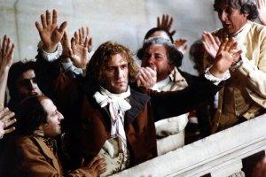 """W tytułowej roli filmu """"Danton"""" wystąpił Gerard Depardieu."""