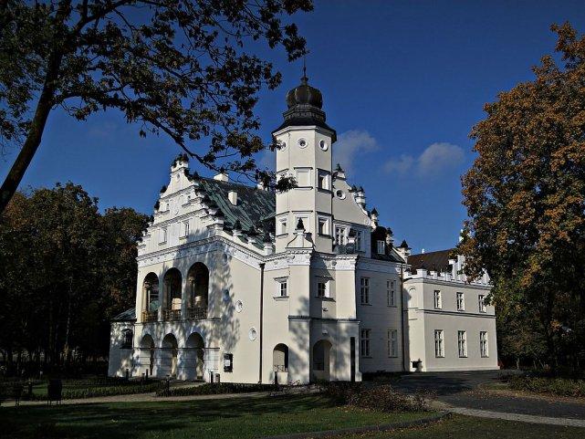 Pałac w Poddębicach.