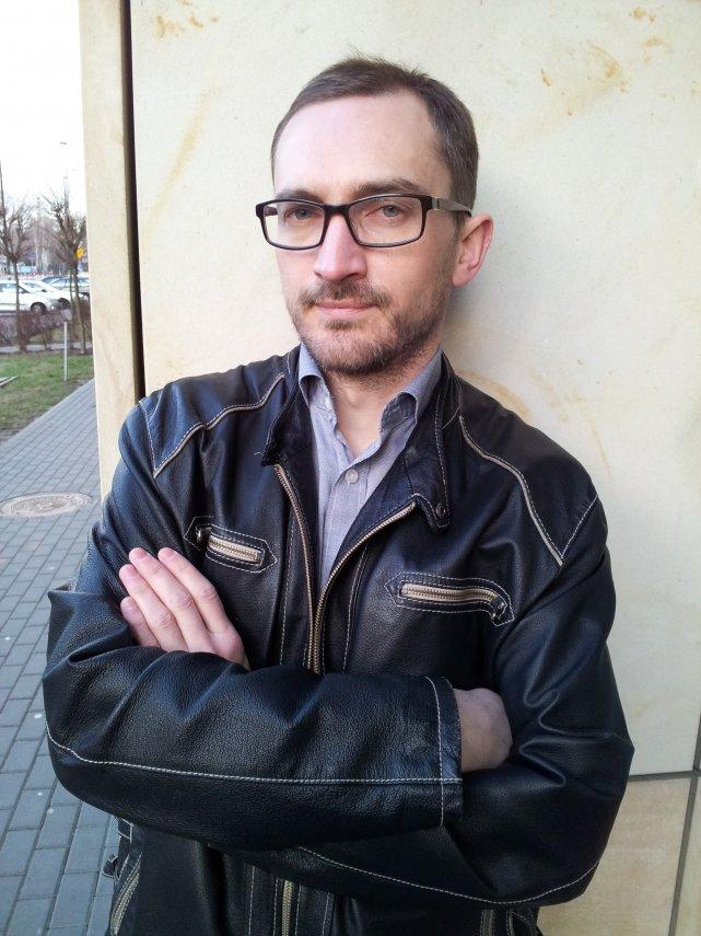 """Marcin Wójcik, autor książki """"W rodzinie ojca mego"""""""
