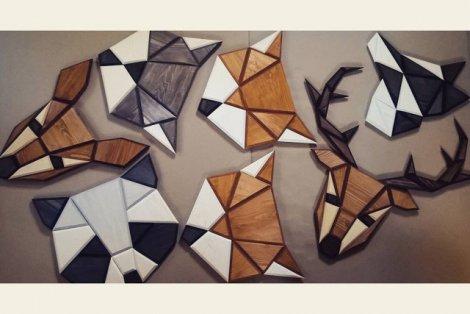 Drewniane głowy zwierząt, wykonane przez Tomką Ciurkę z Poligonu, podbijają serca ludzi z całego świata