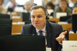 Sprawdziliśmy, co dalej ze śledztwem ws. asystentów europosłów. Na zdjęciu Andrzej Duda w Parlamencie Europejskim w październiku 2014 roku.